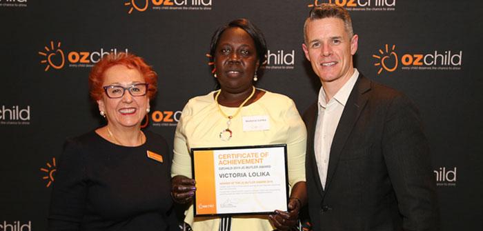 2019 JC Butler Award Winner – Victoria Lolika